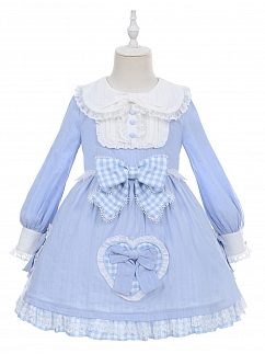 Dream Alice Lolita Dress OP for Kids by Fairy Cat