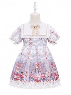 Sweet Cat Lolita Dress OP for Kids by Fairy Cat