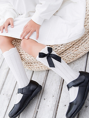 Princess Bowknot Stockings for Kids by Fairy Cat