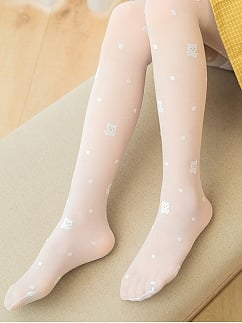 Princess Bear Tights for Kids by Fairy Cat