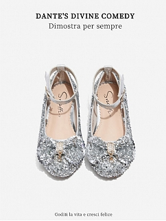 Princess Shiny Lolita Shoes for Kids by Fairy Cat