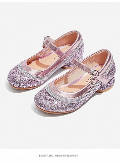 Carnival Bubble Princess Shiny Lolita Shoes for Kids by Fairy Cat