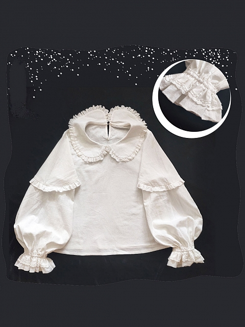 Forget Bunny Promise JSK Matching Blouse by FairyFaith