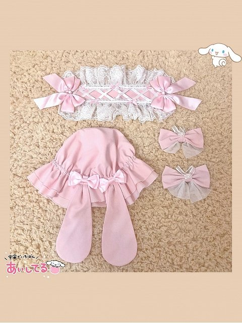 Forget Bunny Promise JSK Matching Accessories by FairyFaith