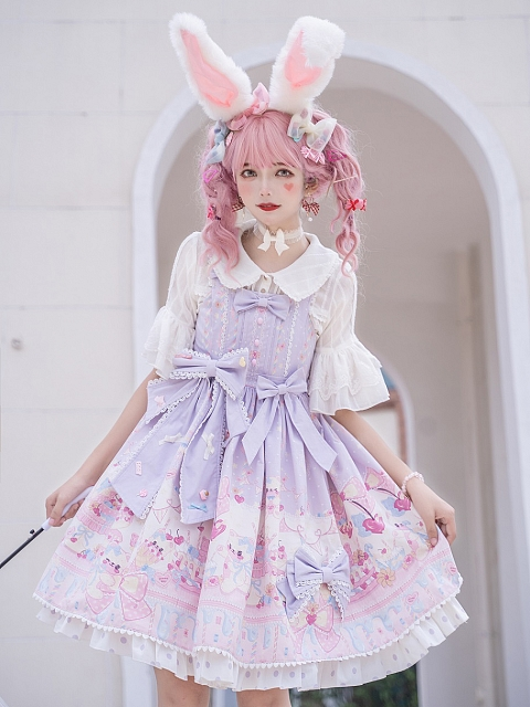 Sweet 100% Sugar Lolita Dress JSK by Fantasy Childlish