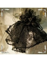 Embroidered Tree Gauze Trimmed Corsage by FunCcnio