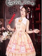 Natural Waist Stand Collar Qi Lolita JSK By Fanzy Fantasy