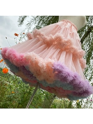 Rainbow Cloud 60 cm Petticoat by Flower Field Happy Event