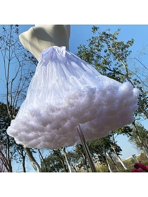 White Cloud 50 cm Petticoat by Flower Field Happy Event