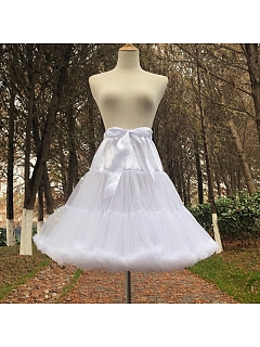 White Cloud 55 cm Petticoat by Flower Field Happy Event
