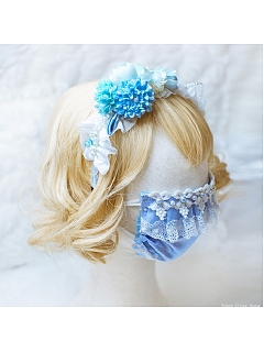 Washable Handmade Lolita Decorated Face Mask