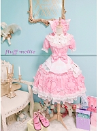 Cat Alice Apron by Fluff Mollie