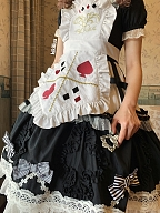 Cat Alice Poker Apron by Fluff Mollie