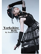 Yorkshire Bells Gothic Lolita Three-pieces Wricuffs Set by Foxtrot Lolita