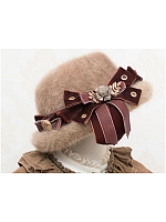 Magic Red Riding Hood Dome Plush Hat by Fantastic Wind