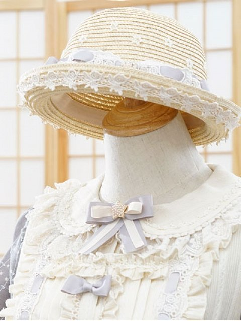 Stardust - picking Girl Star Straw Hat by Fantastic Wind
