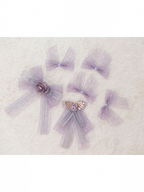 Stardust - picking Girl Star Bowknot decorations by Fantastic Wind