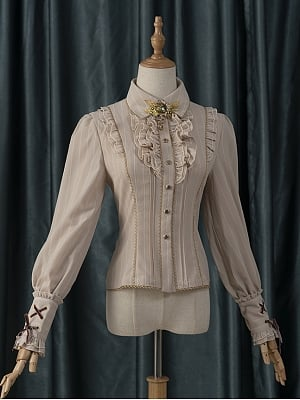 Ingenious Earth Steampunk JSK Matching Shirt by Fantastic Wind