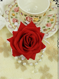 Rose Hair Clip by Fanzy Fantasy