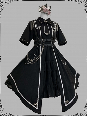Junior Officer Military Style Lolits Dress OP by Gloaming