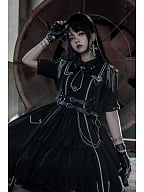 Junior Officer Military Style Lolita Dress OP by Gloaming