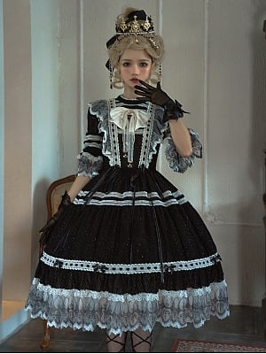 Elegant Avoid Heartbeat Hanayome Lolita Dress OP by Himesama Holiday