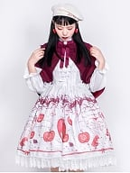 Linqin Little Red Riding Hood Cape by Honey Honey