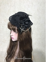 Black Rose Hat-Tide Collection by Hinana Queena