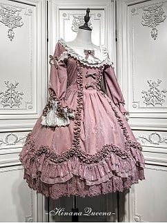 Custom Size Available Fanna Lolita Dress OP by Hinana Queen