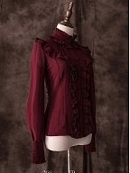 Prophecy of the Star Noble Stand Collar Blouse by Hinana Queena
