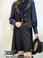 Custom Size Avaliable Pessulus Tailed Waistcoat by Ichigo15