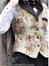 Custom Size Avaliable Sky Birds Waistcoat by Ichigo15
