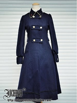 Custom Size Avaliable Knights Of The Round Table Long Woolen Overcoat by Ichigo15