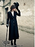 Custom Size Avaliable Dark Night Overcoat by Ichigo15