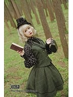 Custom Size Available Phosphorus and Ash Vintage Woolen Full Skirts by Ichigo