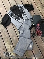 Custom Size Available Phosphorus and Ash Vintage Vest by Ichigo