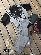 Custom Size Available  Phosphorus and Ash Pants by Ichigo