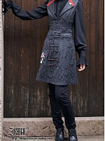 Custom Size Available Vest-Style Pullover Dress by Ichigo15