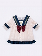 New Color The Poem of Le Seine Lolita Overall Skirt / Shorts Matching Shirt by IchigoMikou Lolita