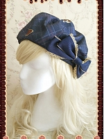 Magic Dictionary Bowknot Decoration Beret by by Infanta