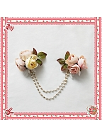 Beauty and The Beast Rose Chain by Infanta
