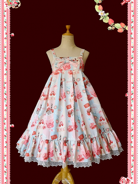 About Strawberry Sweet Lolita JSK by Infanta