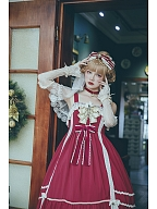 Elena's Vows Chiffon Sweet Lolita Dress JSK by Infanta