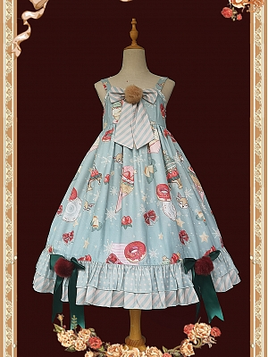 Christmas Donuts Lolita Dress JSK by Infanta