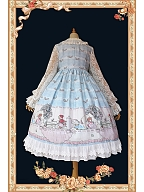 Small Tea Party Lace Long Sleeves Lolita Dress OP by Infanta