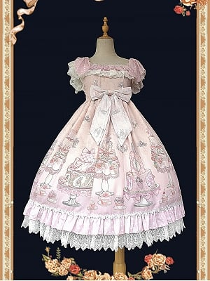 Cake Salon II Sweet Lolita Dress JSK by Infanta