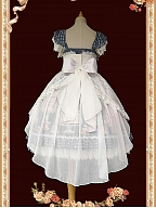 Elegant Tulle Train with Bowknot by Infanta
