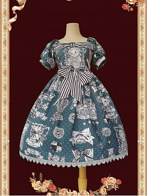 Gift Teddy Classic Lolita Dress OP by Infanta