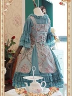Stereo Embroidery JSK with Chiffon Petticoat Set by Infanta