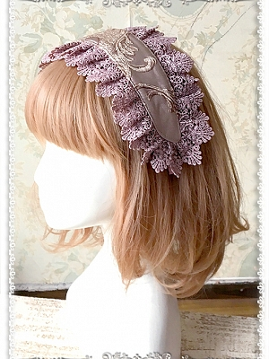 Stereo Embroidery Hairband by Infanta